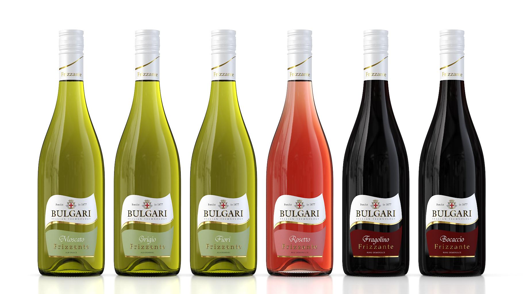 Серия из шести вин «Frizzante»