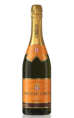 «CHATEAU CRICO» Semi-dry Sparkling White Wine
