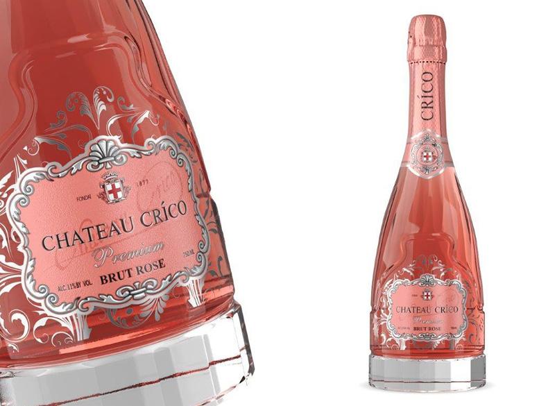 «CHATEAU CRICO» Premium BRUT ROSE