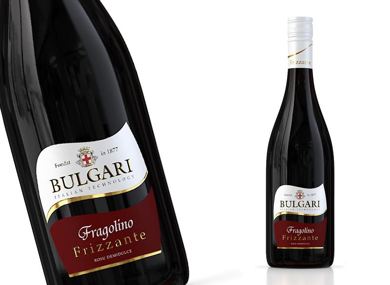 «BULGARI FRIZZANTE» Fragolino