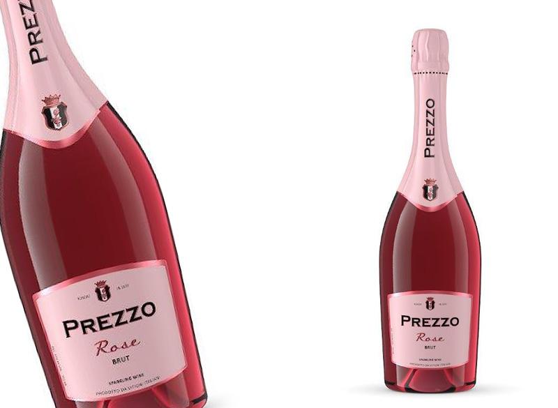PREZZO Вино игристое розовое брют