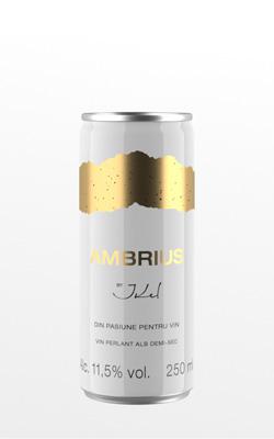 «AMBRIUS» Вино белое полусухое