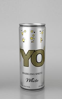«YO» Напиток винный газированный белый