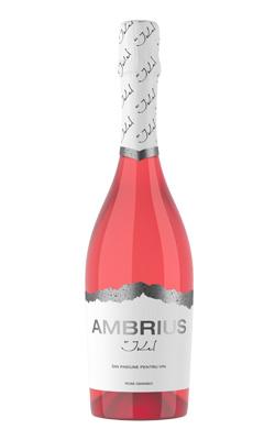«AMBRIUS» розовое полусухое